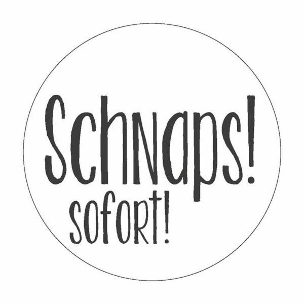 Schnaps Button Magnet Bilder Frau Schnobel Grafik