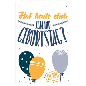 Skorpion Verlag Karte Geburtstag Geburtstagskarte Geburtstagskarte Frau Schnobel Grafik Front 3