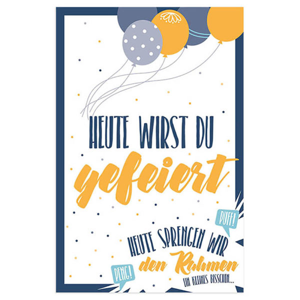 Skorpion Verlag Karte Geburtstag Klappkarte Geburtstagskarte Frau Schnobel Grafik Front 4