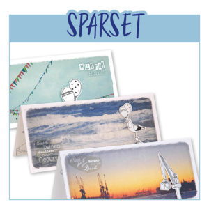 Set Sparpaket Karte Geburtstag Klappkarte Geburtstagskarte Frau Schnobel Grafik