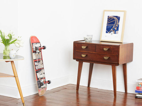 Riesenrad Poster Riesenrad Typoposter A4 Seite klein