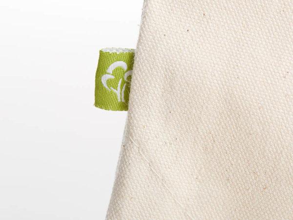 Turnbeutel Gymsac witziger Turnbeutel Organic Cotton Logistik Logistische Perfektion Natur Schwarz Organic Cotton Label