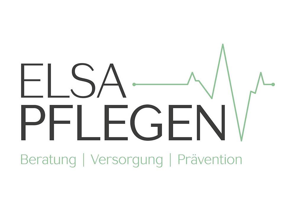 Logo Elsa Pflegen von Frau Schnobel Grafik