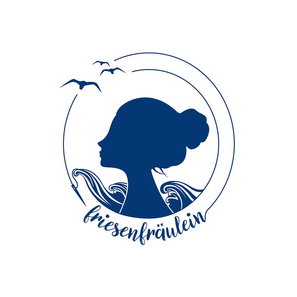 Friesenfräulein Logogestaltung im Frau Schnobel Grafik Portfolio