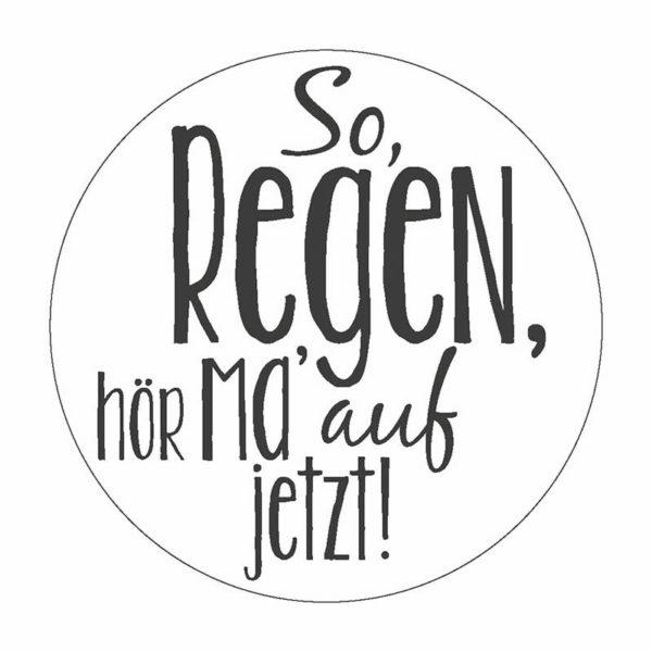 Regen Button Magnet Bilder Frau Schnobel Grafik