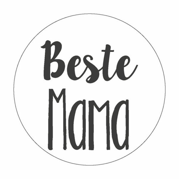 Beste Mama Button Magnet Nadelbutton