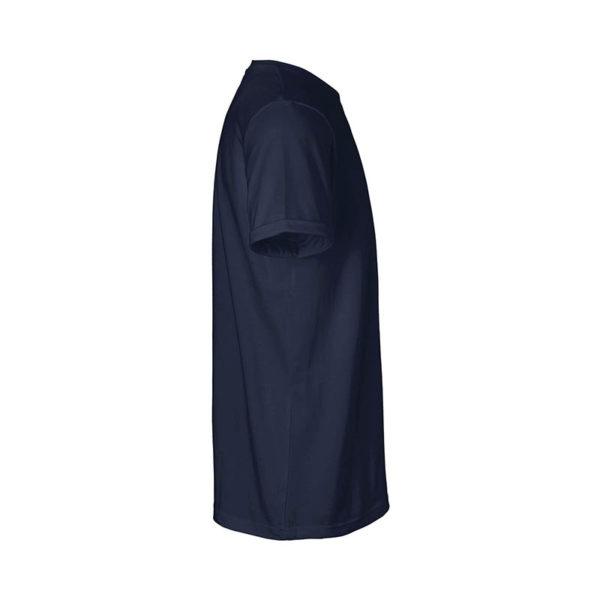 Rapü Design unisex-shirt tshirt navy-blau Pommunity pommes Patch Seite