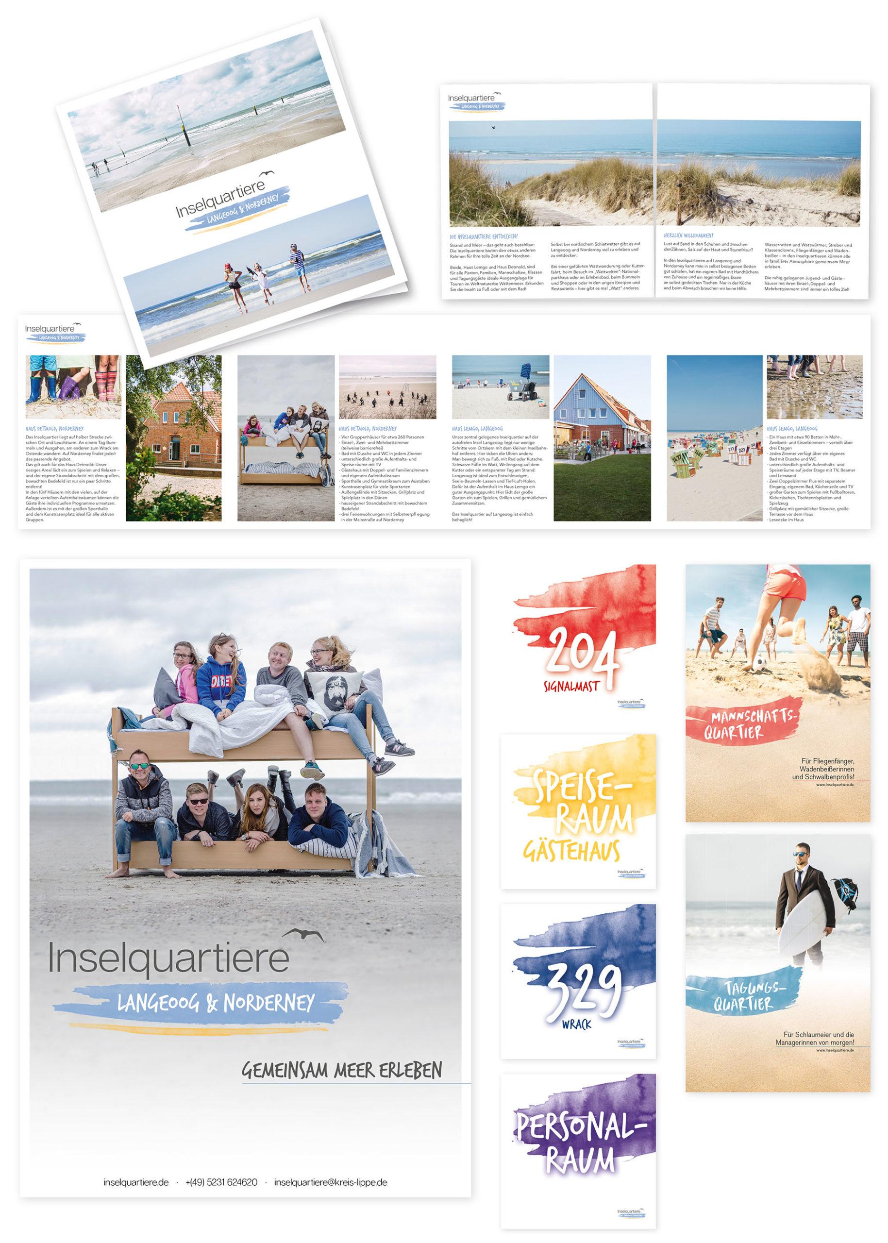 Kreis Lippe Martina Olonschek Corporate Design Collage