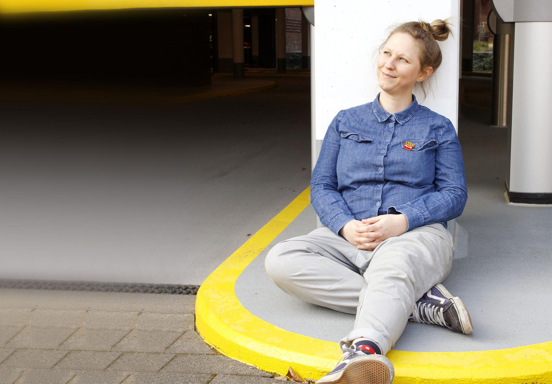Grafikdesignerin Hamburg Martina Olonschek Portrait